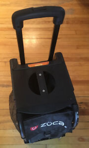 Luggage with wheels -  Black Zuca