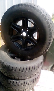 235/70/R16 winters on rims