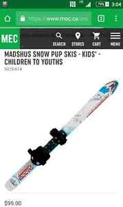 ISO toddler x-country skis