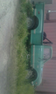 1969 gmc 1\2ton 4x4 with 4 inch lift project