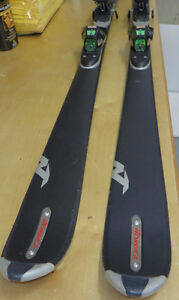 Nordica Free 9 ski with Geze G93 R bindings