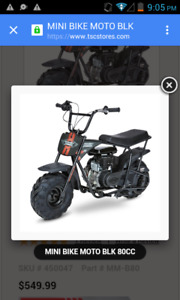 Brnd new mini moto