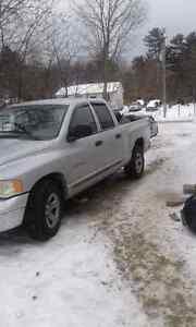2002 Dodge Quad cab