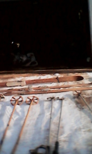 Vintage wooden ski,s   506-372-8981..…   price-$100 for all