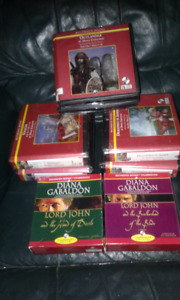 Diana Gabaldon Audio Books - Outlander 1, 2, 3 + 2 Lord John Bks