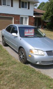 Mint shape Nissan Sentra CONTACT PHONE NUMBER!