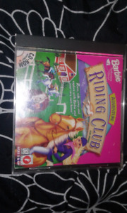 Barbie adventure riding club PC game