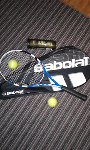 Babolat w/cover