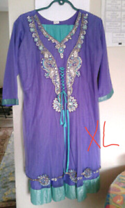 Traditional embroidered dress