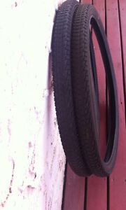 2 Bicycle tires
