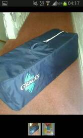 Graco travel cot and extra activity matress