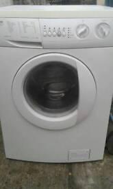 Zanussi washing machine zwf1621w 1600spin