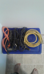 Assorted Extension Cords