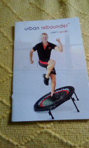 Urban rebounder exercise mini trampoline