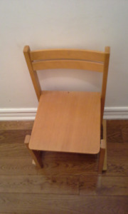Solid wood Kid's chair