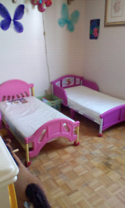 Girl Toddler Beds with mattress