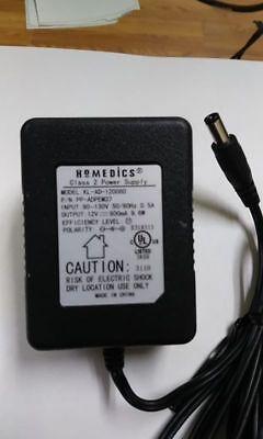 Homedics Foot Massager KL-AD-120080 12v AC Adapter PP-ADPEM37 Power Supply Cord