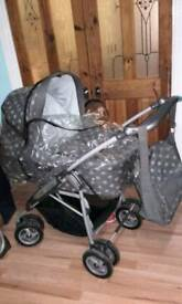 Immaculate Mamas and Papas Ultima 9 in 1 luxury travel system