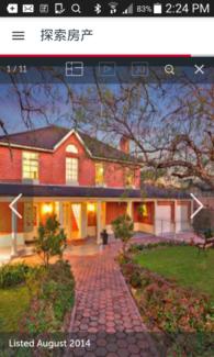 Burwood beautiful House one bedroom $250 per week.