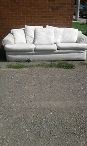Beautiful Free Yet Large and Heavy Couch