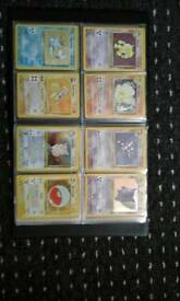 Pokemon card old to new some really rare will do swaps for consoles