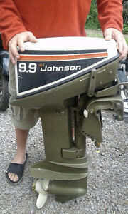1979 9.9 Johnson Outboard Motor