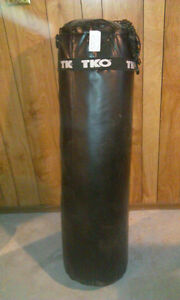 Official TKO punching bag comes with gloves