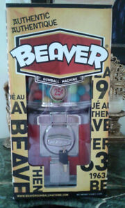 Authentic Beaver Gumball Machine