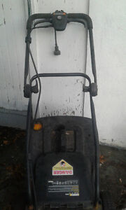 Worx Lawnmower and mulcher