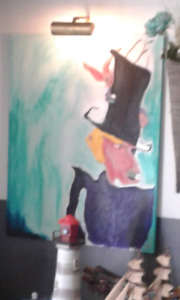 MARILYN MANSON Painting for sale