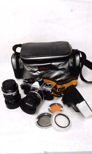 1983 Nikon FE2 Camera set