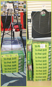 "24"" Camping Grills & Tri-Pod Grills BACK IN STOCK"