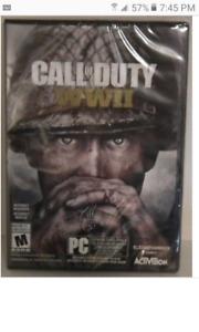 BNIB Call Of Duty WW2 for PC