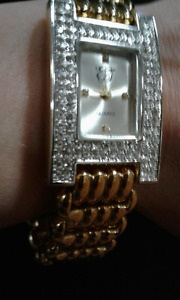 REDUCED!!**NEW!! Ladies EJ Quartz VINTAGE Faux Diamond Watch