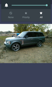 2004 range Rover supercharged edition trade for sled