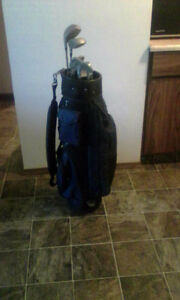 Golf clubs for sale great shape come  with balls and tees