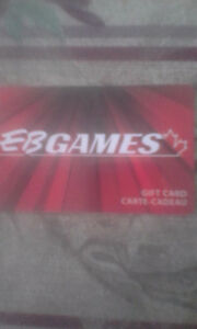 $50 EB Games gift card