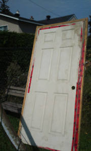 "Colonial door and frame 33""x80"