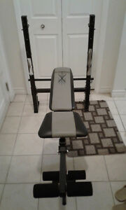 Competitor Ol'School Muscle Workout Bench Set