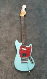 Fender Mustang Kurt Cobain Reissue - Sonic Blue