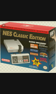 NES Classic- Brand New Sealed Box