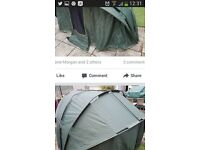 Jrc 1 man bivvy +overwrap+groundsheet great condition ground sheet onlt used a few times