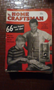The Home Craftsman magazines from 1946-51