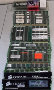 DDR1 Desktop RAM Sticks-256MB