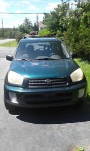 2003 Toyota RAV4 for Repair/Parts, sold AS IS