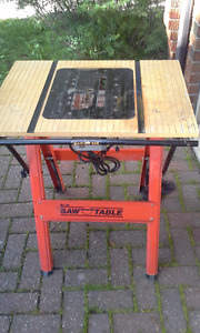 TABLE POUR SCIE CIRCULAIRE/TABLE FOR CIRCULAR SAW