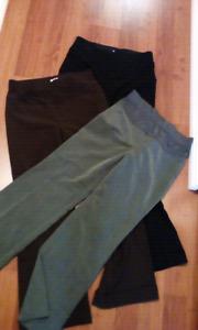3 pair mat dress pants