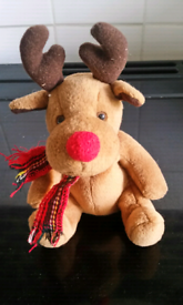 Small Rudolph soft toy