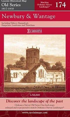 Old Newbury Series - Newbury and Wantage.Cassini Publication Ltd.Old Series(Sht map,folded,2007)NEW