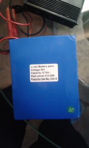 LI-ION BATTERY 36V FOR ELECTRIC BIKE